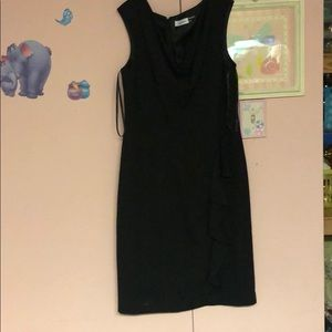 Calvin Klein size 10 black dress